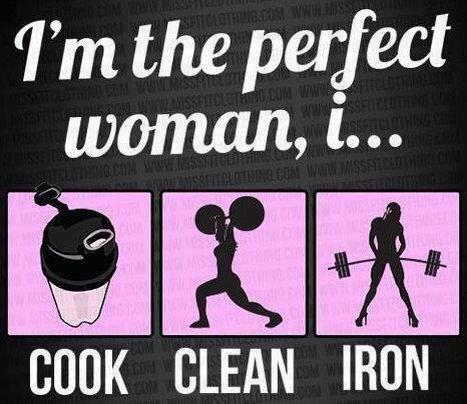 Are you the perfect woman? Men can be perfect too.